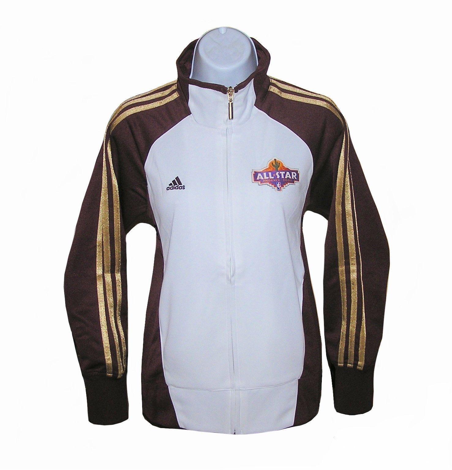 Nba Womens Apparel- Chaqueta deportiva 2009 All-Star Adidas Nba Western, nwt