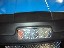 EZGO Name Plate cover for all EZGO Golf Cart Diamond plate