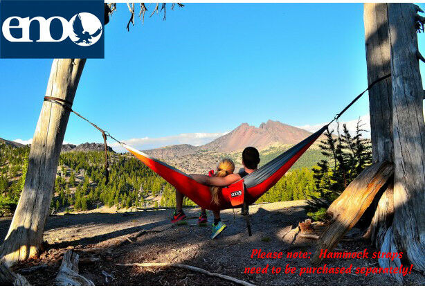 Eno Eagle Eagle Eagle Nest Outfitters Doublenest Paracord hammock, Strong & Lightweight ce8b34