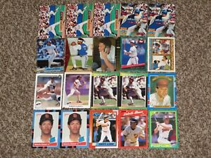 Roberto-Alomar-20-Card-Bundle-1980s-1990s-Topps-Donruss-1988-Rookie-Card-RC-Lot