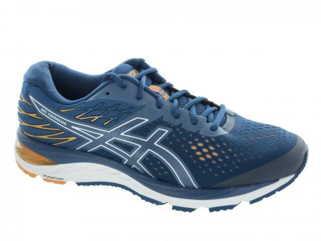 Men's ASICS GEL Cumulus 21 Running Shoes Mako Blue White Size 9.5