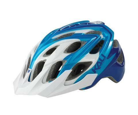Kali Chakra Plus Helmet Sonic White bluee X-Small Small Bike