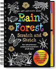 Sketch and Scratch Rain Forest by Peter Pauper Press (Spiral bound, 2007)