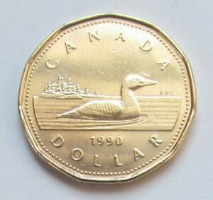 1990-CANADA-LOONIE-combined-shipping