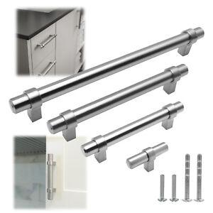 Stainless Steel Brushed Nickel Modern Kitchen Pull Cabinet Handle Door Hardware