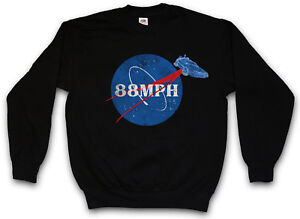 Marty To Mph Hour Sweatshirt The Mcfly Back Per Miles Pullover 88 Fun Car Future Pfpaqq
