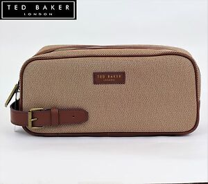 Image Is Loading New Ted Baker Mens Canvas Weekend Sports Wash
