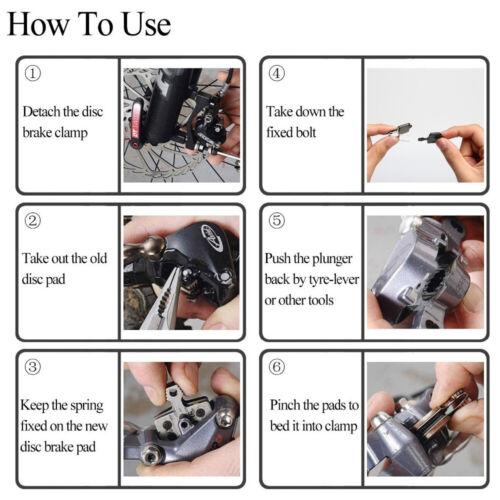 Metal Resin Disc Brake Pads for Shimano M315 M355 M395 M415 M525 B01S 2 Pairs
