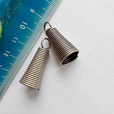 Reißverschluss Anhänger Metall Spiralenfeder silbern für Clip Zieher Reisser   eBay