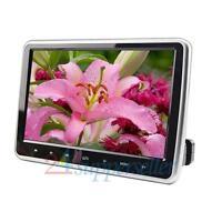 10inch Hd Digital Lcd Screen Car Headrest Monitor Dvd/usb/sd Player Ir/fm Hdmi on Sale