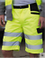 alta visibilità BERMUDA O PANTALONCINI  Shorts Safety Cargo Result Safe-Guard