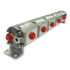 Geared Hydraulic Flow Divider 5 Way Valve 12ccrev Without Centre Inlet