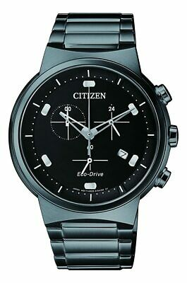 Citizen Men's Paradex AT2405-87E 41mm Black Dial Stainless Steel Watch 13205136597 | eBay