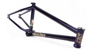 Ajuste las bicicletas SLEEPER 20.75 DAYTONA púrpura TRANS púrpura Corriere cuadro de BMX 20.75