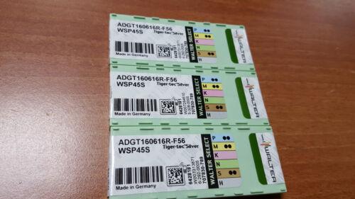 WALTER 10pcs ADGT160616R-F56 WSP45S ADGT 160616R-F56 WSP45S