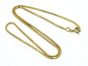 Venezianerkette-Kette-585-Gelbgold-14kt-Gold-1-5mm-Laenge-40cm-Goldkette-2-85gr