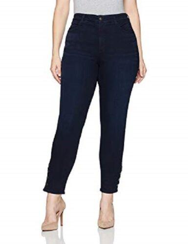Ami 20w Stretch Button Tuck Skinny Trim Denim Sinclair scuro Blu Jeans Lift Nyjd waxS4Ip7q