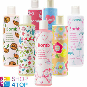 BOMB-COSMETICS-SHOWER-GEL-300-ML-NATURAL-MADE-IN-UK-NEW