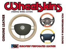 PERFORATED GENUINE LEATHER STEERING WHEEL COVER for HYUNDAI SONATA