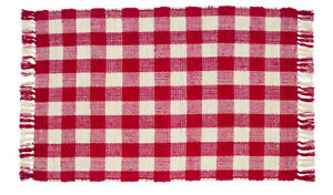Woven-Rug-24-x-42-inch-Buffalo-Check-Red-White-Front-Door-Decor-Floor-Mat