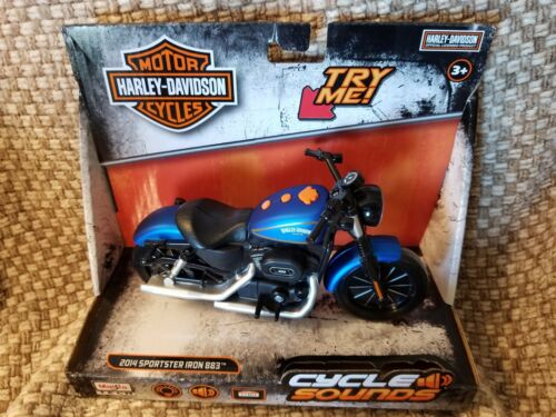 New Harley Davidson Cycle Sounds 2014 Sportster Iron 883 Motorcycle
