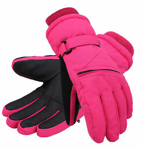 how to buy 50% price good texture Details about Kids Winter Snow Ski Gloves Waterpoof Children Snowboard  Gloves for Boys Girls