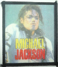 MICHAEL JACKSON On Stage Vintage 80`s/90`s Printed Sew On Patch #2