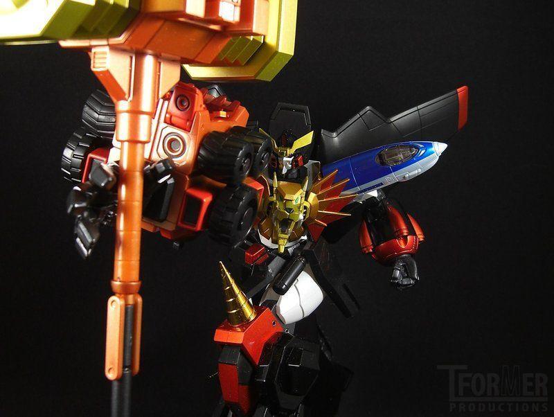 USA Super Robot Chogokin King of Braves GaoGaiGar Goldion Hammer Key Of Victory