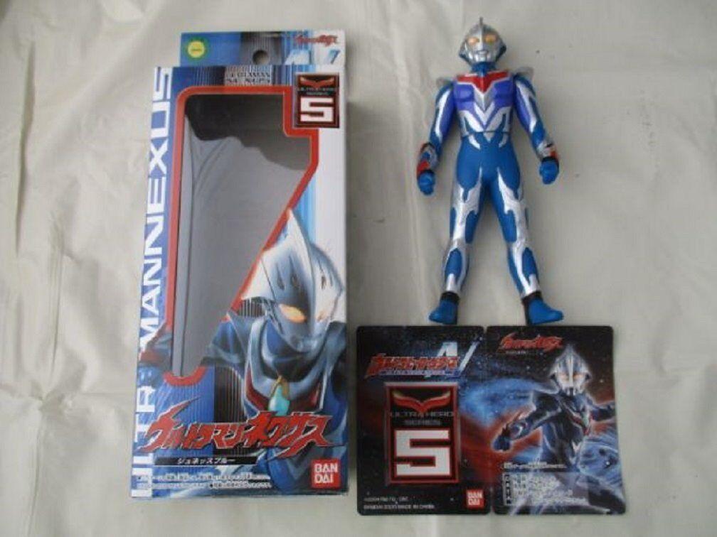 Bandai 2005 Ultra Hero N05 Ultraman NEXUS JUNIS blueE blueE blueE PVC Figure a9bd1f
