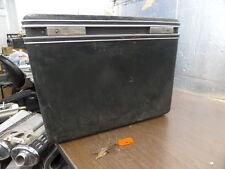 Vintage Motorcycle Bondos FRP Box Saddlebag Hardcase Luggage Case w/ Key Set