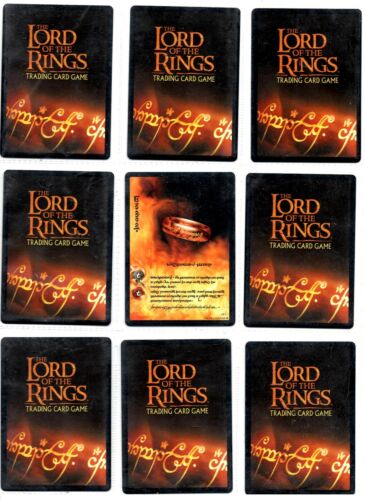 Rare cards 4//5 Lord of the Rings LOTR CCG TCG Fellowship of The Ring Fotr
