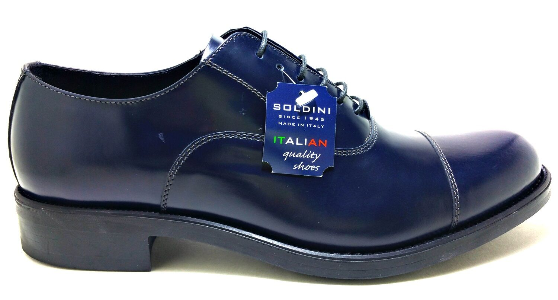 SOLDINI LAS VEGAS 18636 francesine scarpe uomo cerimonia inglesine francesine 18636 mocassini 072fbc