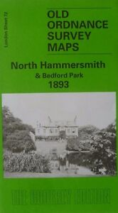 Old-Ordnance-Survey-Map-North-Hammersmith-amp-Bedford-Park-London-1893-S72-2-New