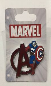 New-Captain-America-Pin-Disney-Pin-Marvel-Avengers-Pin-With-Captain-America