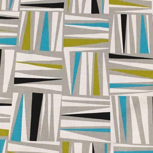 """Material de Cortina de tapicería textil Arlequín /""""plexo/"""" encantadora 3m piezas 54/"""" £ 24.99"""