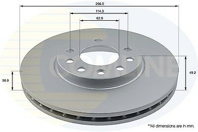 Opel Astra mk5 H 2004-2011 2 x Front brake discs and /& Pad New Set 5 Stud
