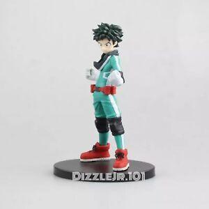 """Anime My Hero Academia Midoriya Deku Izuku PVC Collectible Action Figure 6"""""""