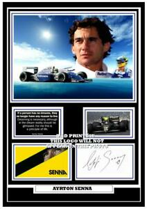 54-ayrton-senna-f1-signed-a4-photo-mounted-framed-reprint