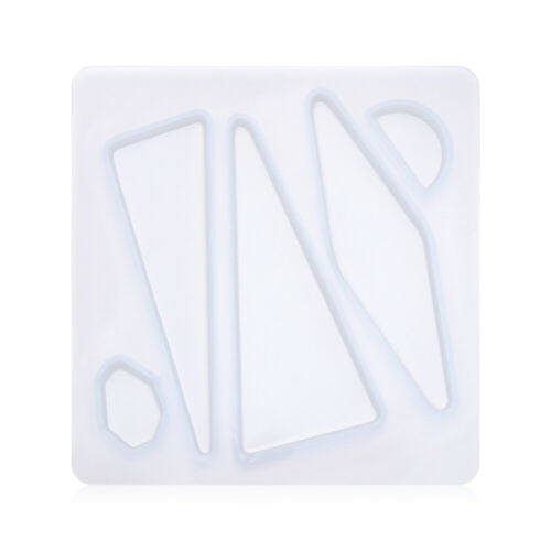 Fluid Arts Jewelry Making Mould Hair Pin Mold Epoxy Resin Casting Molds Clip