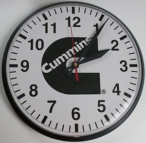 wall clock for office. Image Is Loading Cummins-time-clock-office-desk-shop-red-wall- Wall Clock For Office R