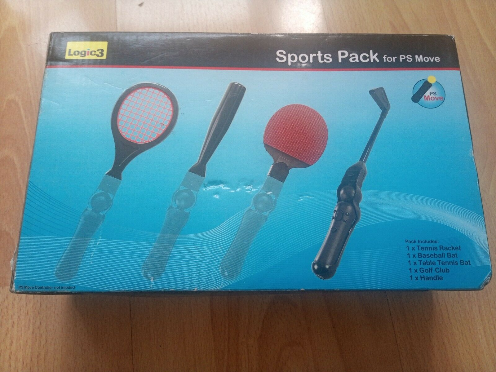 PS Move Sports Pack for PlayStation Move Controllers Accessory Pack