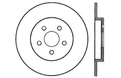 Disc Brake Rotor Rear Centric 121.63025