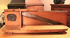Antique Bread, Meat and Vegetables Slicer Tucker & Dorsey Mfg Co.