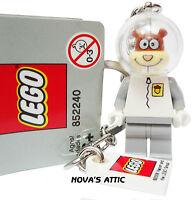 Lego Spongebob Squarepants Sandy Cheeks Keyring Original With Rare Tags