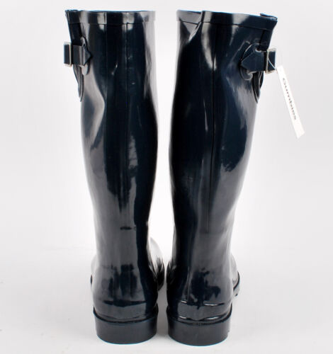 Gumbies Waterproof Welly Navy Blue Wellington Boots Shoes Size 4 5 6 6.5 7 UK