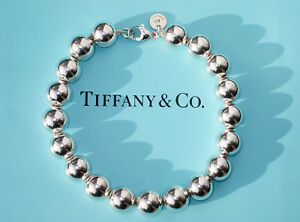 d51c5cc07 Tiffany & Co City Hardwear Ball Sterling Silver 10mm Bead Bracelet ...