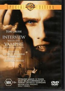 INTERVIEW-WITH-THE-VAMPIRE-DVD-R4-Tom-Cruise-Brad-Pitt-LIKE-NEW-FREE-POST