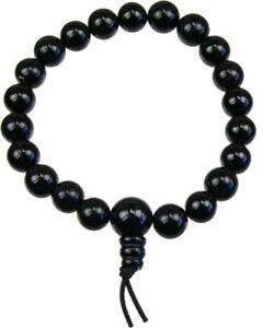 Bracelet Mala Tibétain - ONYX Noir