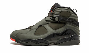 New Air Jordan VIII 8 Retro Take Flight Sequoia Black Olive Size 17 ... 0384e5c0f