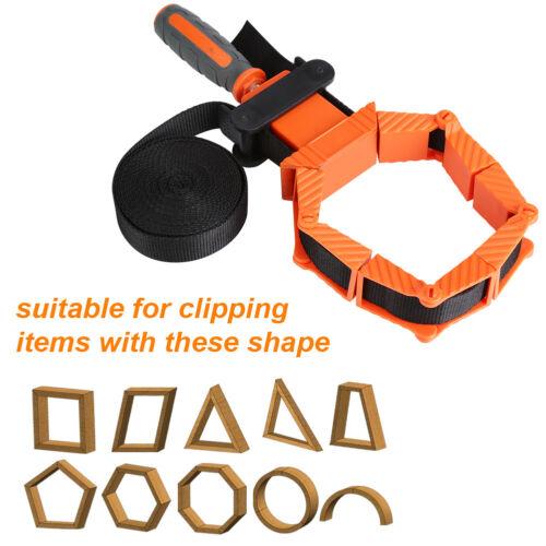 4M Holzbearbeitung Band Strap Clamp Ratsche Zwinge Rahmenspanner Spannhilfe DE